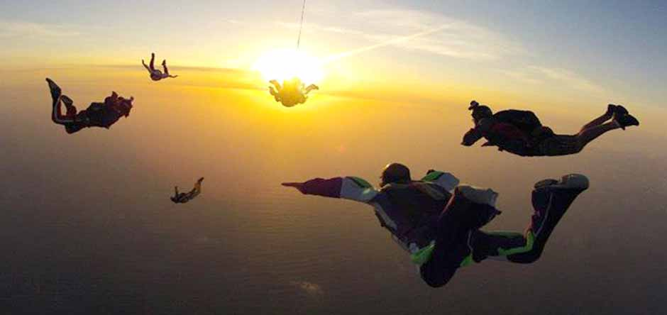 Sunset in FreeFall